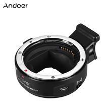 Andoer EF NEX iv 렌즈 마운트 어댑터 링 소니 a7/a7r/a7s/a5000/a6000 nex e 마운트 풀 프레임 용 고속 디지털 자동 초점
