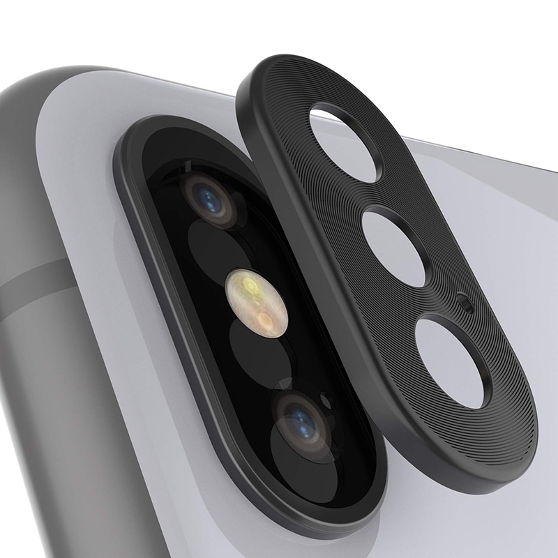 Camera Lens Full Cover Protective Back Camera Lens Protector Case For iPhoneX XS max Case Metal Phone Lens Protective Ring Cover(China)