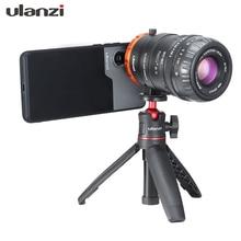 Adaptador de câmera de 17mm ulanzi, para iphone xr xs max 8 plus huawei p30 pro mate 30 samsung s10 plus 7 pro