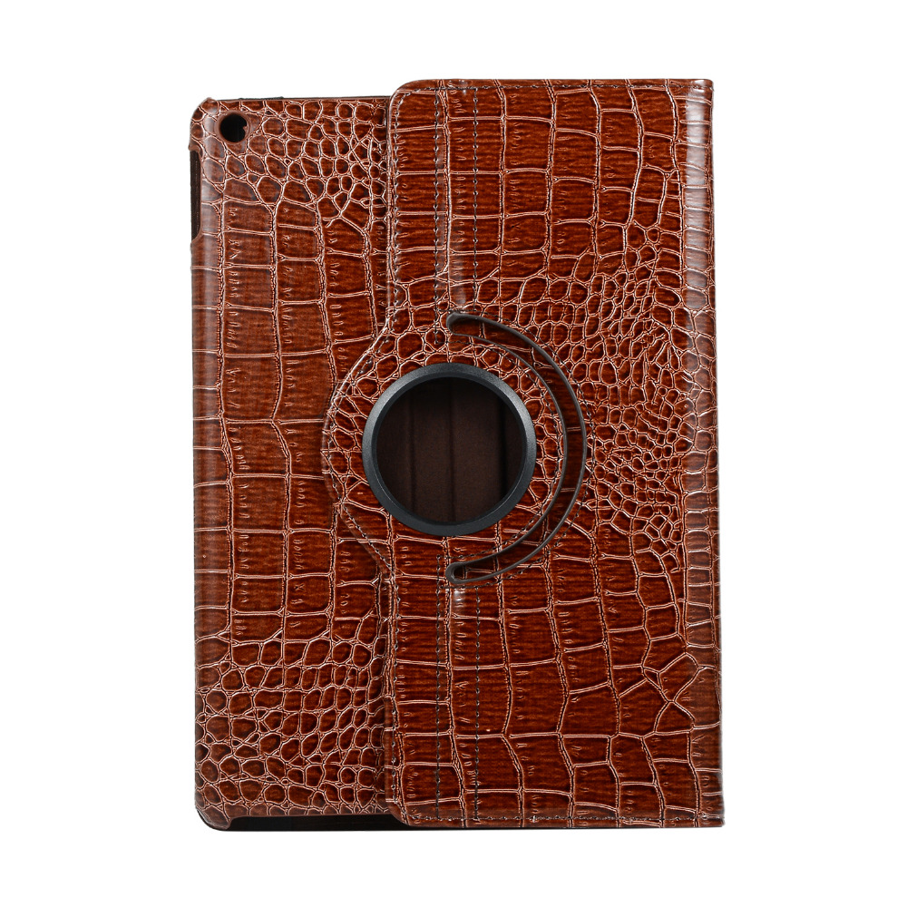 7th-Generation 360-Degree Rotating-Case Wake Cover for iPad Apple A2197 Film--Pen Wake