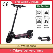 10″ Single/ Double-wheel Drive Electric Scooter 48V / 22Ah 1200 Watt Motor Range 40-50 Km With Off-Road Tires Folding For Adult