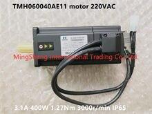 Original novo 100% TMH060040AE11 motor 220VAC 3.1A 400W 1.27Nm 3000r/min IP65