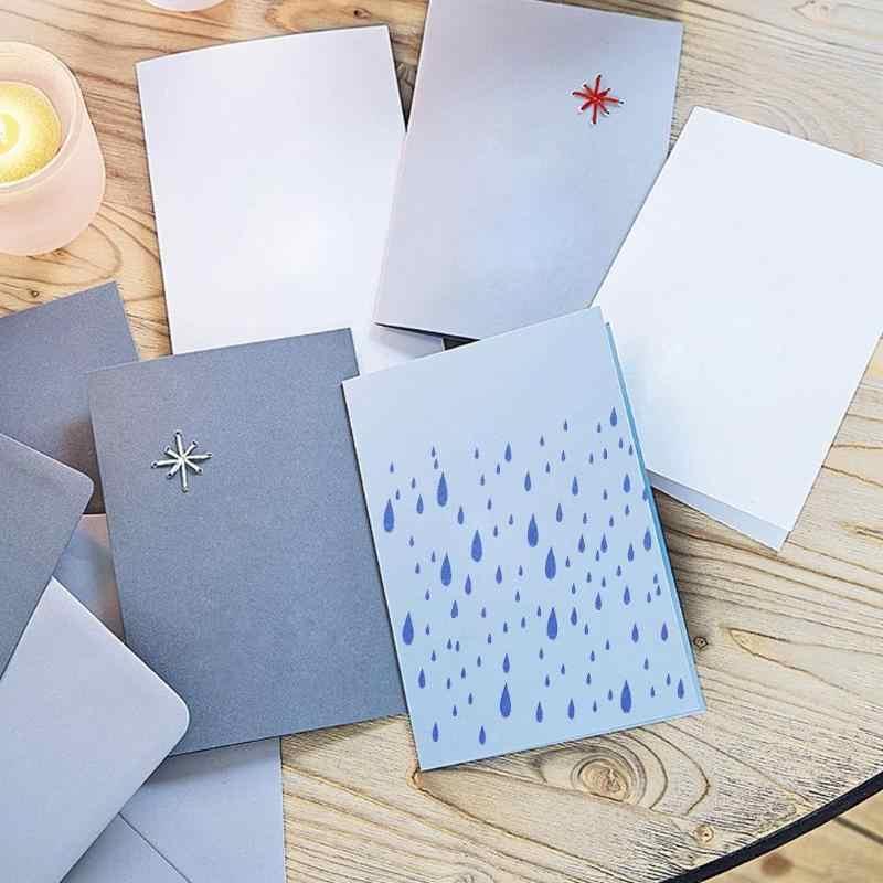 Biskuit, Kopi Stensil Scrapbooking Template Dekorasi Kue Semprot Cetakan Baru Food Grade Plastik Scrapbooking Hadiah
