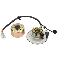 Motor Kits Stator Rotor Magneto Coil Fit for ZongShen 150CC Oil-cooled Engine Stator Rotor Magneto Coil motorcycle ignition magneto stator coil for kawasaki ex250 ninja 250r 2008 2012 magneto engine stator generator coil accessories