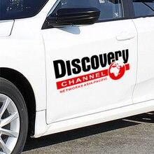 2 pçs universal national geographic discovery adesivos e decalques carro-estilo de decoração para todos os carros acessórios
