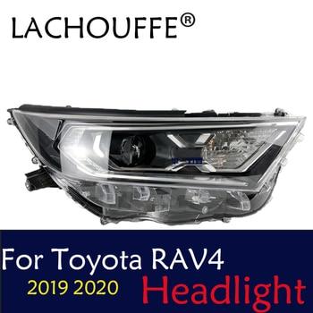Car Styling Head Lamp for Toyota RAV4 Hybrid 2019 2020 Headlights LED Headlight DRL All LED light Source Accessories