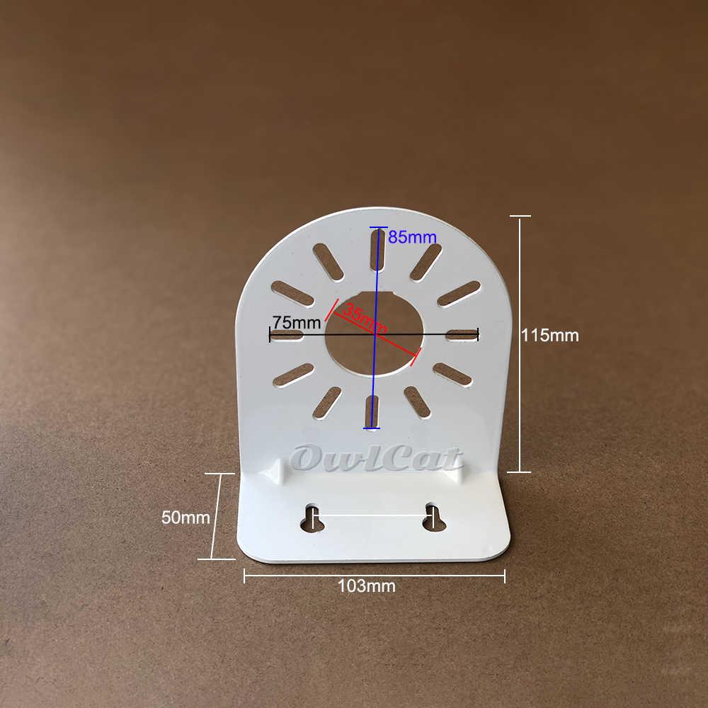 Owlcat Muurbevestigingsrail Stand 115 Mm Metalen Houder Voor Mini Dome Ip Camera Cctv Video Surveillance Ronde Dome camera