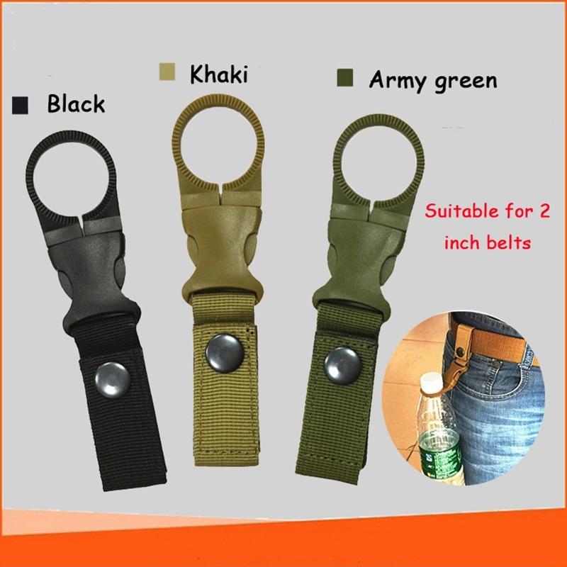 Carabiner Military Multi Function Holder Bottle Holder Hook Back Pack