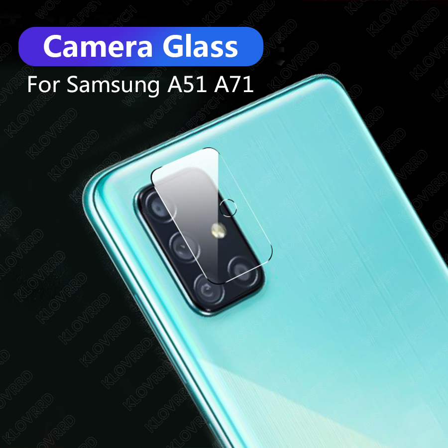Back Camera Lens Tempered Glass For Samsung Galaxy A71 Film Cover Screen Protector  For Samsung Galaxy A51 Camera Glass Film