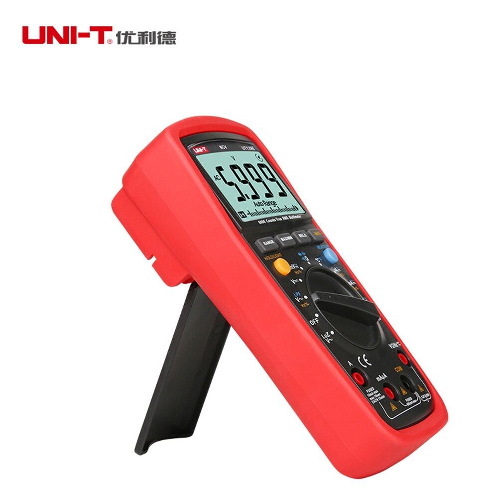 Купить с кэшбэком UNI-T UT139E True RMS Multimeter auto/manual 6000 Counts DMM LPF LoZ NCV Tester new