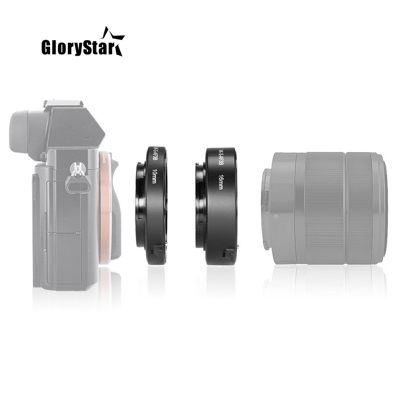 Auto Focus Macro Extension Tube Ring For Sony E-Mount A6300 A6500 A6000 A7 A7II A7III A7SII NEX-7 NEX-6 NEX5R NEX-3N NEX-5