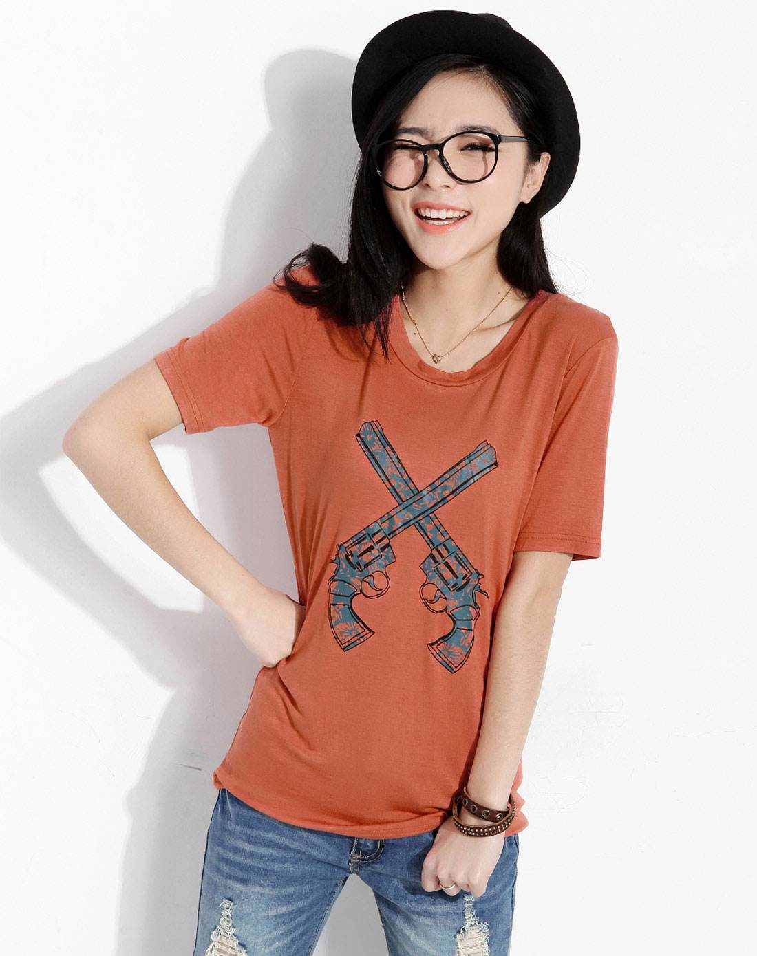 T Shirt Women Ladies Top Tee Shirt Summer khaki Clothing