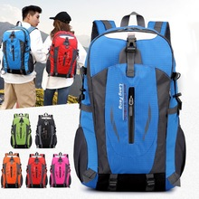 40L bolsas al aire libre viajes deportivos mochila de Montañismo Camping senderismo Trekking mochila de viaje impermeable bicicleta bolsos de hombro