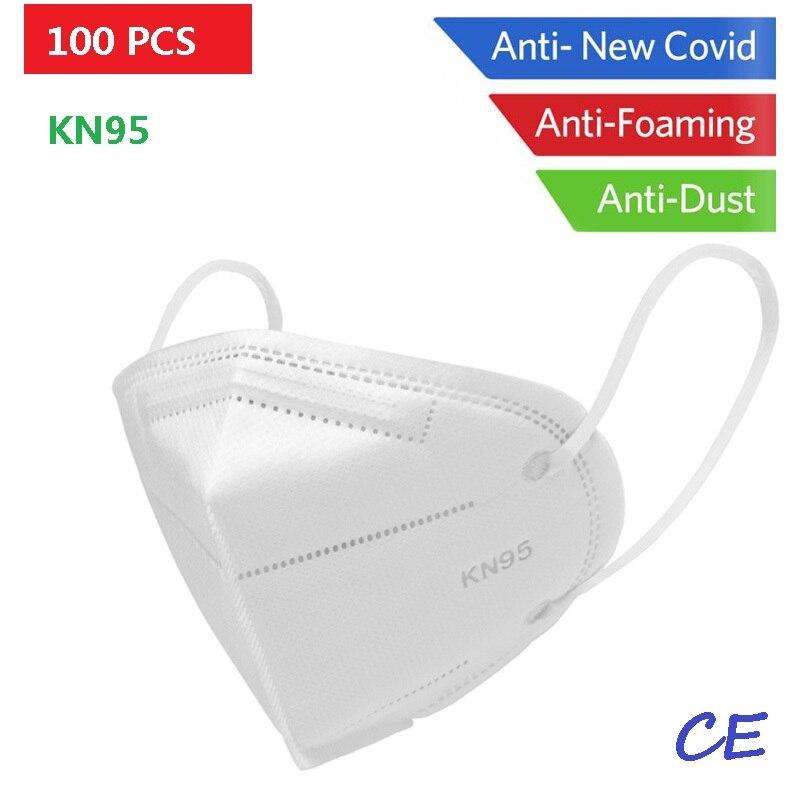 Reusable KN95 Mask - Valved Face Mask N95 Protection Face Mask FFP1 FFP2 FFP3 Mouth Cover Pm2.5 Dust Masks