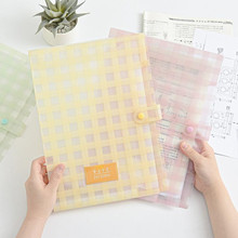 New multi-layer A4 Filing Products information papers buckle 4 colors file storage 5 into Folder Holder Organizer