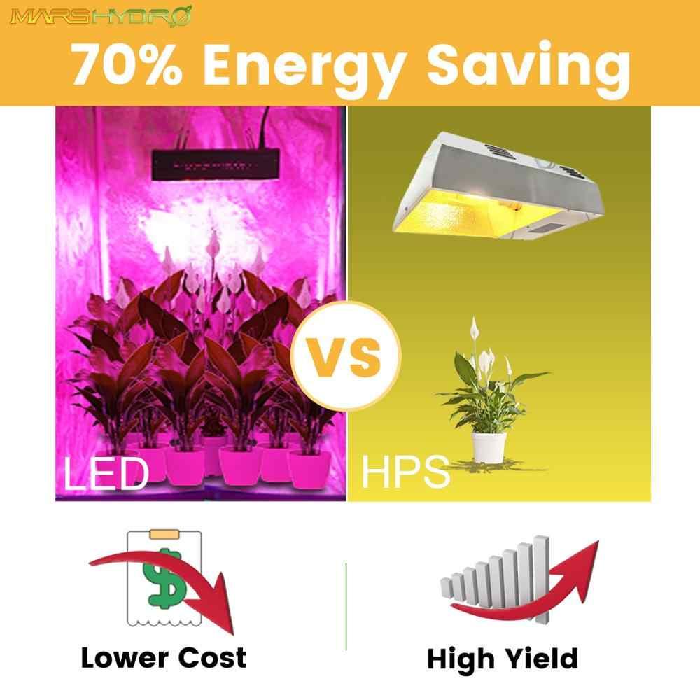 Marshydro 1600W led cultiver des Kits de lumière lumière hydroponique pour cultiver tente boîte intérieur plante lampe jardin lumière Pro II Epista diode led