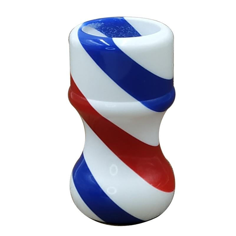 Dscosmetic Barber Pole Shaving Brush Handle Handle Made