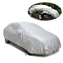 Cubierta de protección resistente al polvo para coche, protección UV para Sedán, tamaño 3M-3XXL/2L/2XL/YL/YXL, cubierta completa para interior y exterior, paraguas para coche