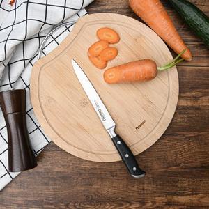 Image 5 - FISSMAN KOCH Series niemieckie stalowe noże kuchenne Chef Santoku nóż do krojenia