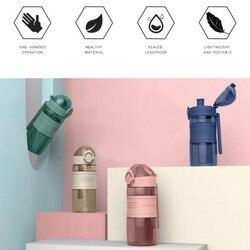 Sport Water Fles Bpa Gratis & Milieuvriendelijke Tritan Plastic-Snelle Waterstroom  Flip Top  water Fles Voor Fitness Wandelen Camping