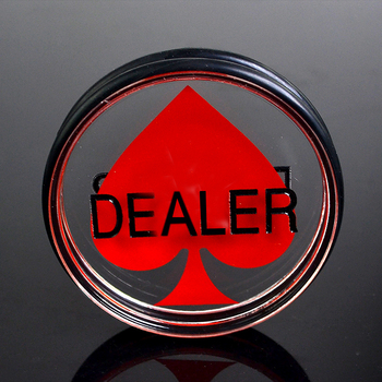 1PC 3inch Acrylic Pressing Poker Cards Guard poker dealer button Poker Cards Guard Poker Dealer Button-Peach Heart Dealer dhl free shipping small blind poker coin poker cards guard protector metal token coin 40 3mm