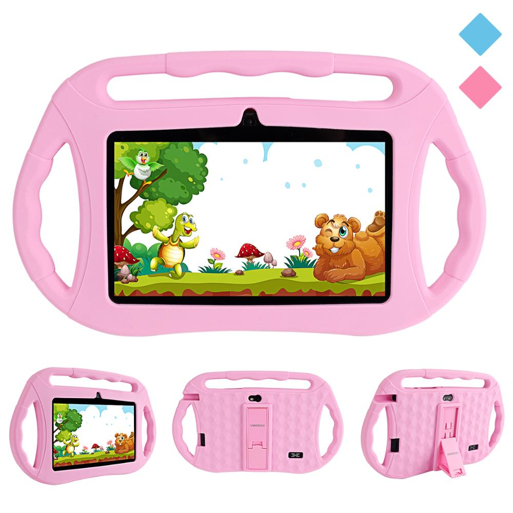 Shockproof Silicone Case, 7 Inch Tablet PC Case With Handle And Stand For Veidoo Kids Tablet PC T8 Q8 (8.3x6.3x0.8 Inches)