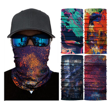Headband Face-Shield Starry Sky Mens Scarf Bike Printed Hike Unisex Fashion Run