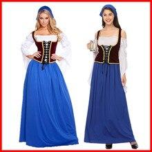 Хэллоуин немецкий Munich Темный пивной фестиваль длинный пивной сервис немецкий бар дамские комбинезоны