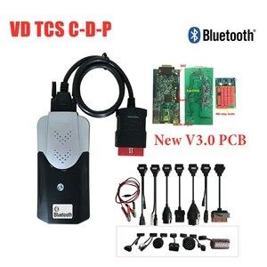 Новый дизайн! 2016 R0/2015,3 keygen новый vci с Bluetooth лучший 3,0 PCB obd obd2 автомобили Грузовики диагностический инструмент сканирования + 8 шт автомобильные...