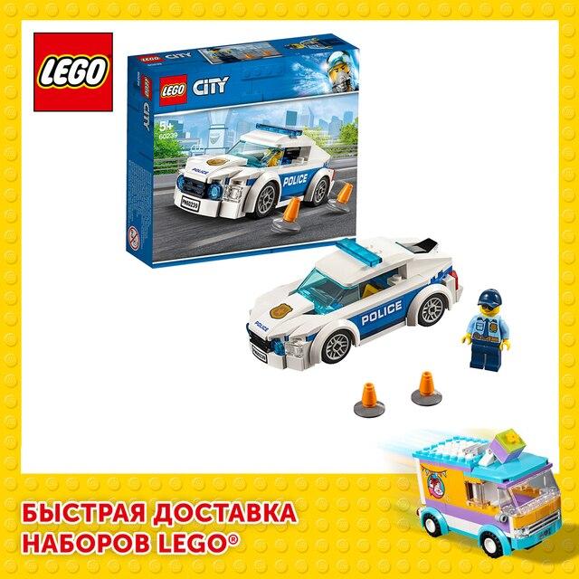 Конструктор LEGO City Police Автомобиль полицейского патруля 1