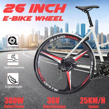 300W 26 #8222 36V tylne koła z silnika podwójny tryb e-bike zestawy do konwersji przenośne dorosłych rower elektryczny zestaw do konwersji roweru na elektryczny tanie i dobre opinie OLPAY CN (pochodzenie) Kontroler