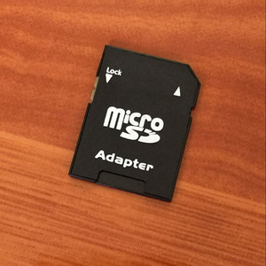 Image 5 - Gorąca sprzedaż popularny adapter karty pamięci Micro SD TransFlash TF na SD SDHC konwertowany na kartę SD adapter karty pamięci s