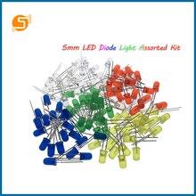 Робот с 5мм светодиод свет ассорти DIY набор белый желтый красный зеленый синий электронный ЕЦ7