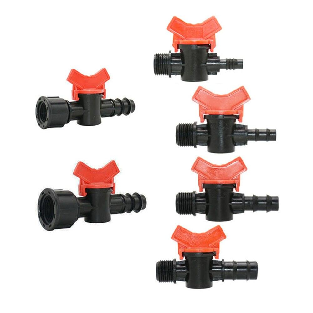 8 мм/10 мм/12 мм/14 мм/16 мм/19 мм ПЭ шланга сад крана с 1/2 3/4 нить орошённые клапаны Применение к садовому шлангу тоннаж бочка