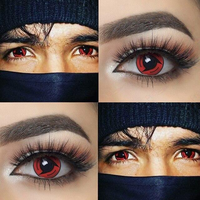 Sharingan Halloween Contacts for Naruto 2