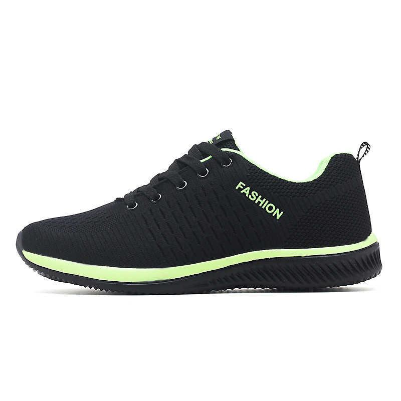 LZJ ใหม่ผู้ชายรองเท้าแฟชั่นผู้ชายรองเท้าผู้ชายรองเท้าผ้าใบสีดำ Breathable รองเท้า 2019 ชายรองเท้าผ้าใบ Zapatillas Hombre
