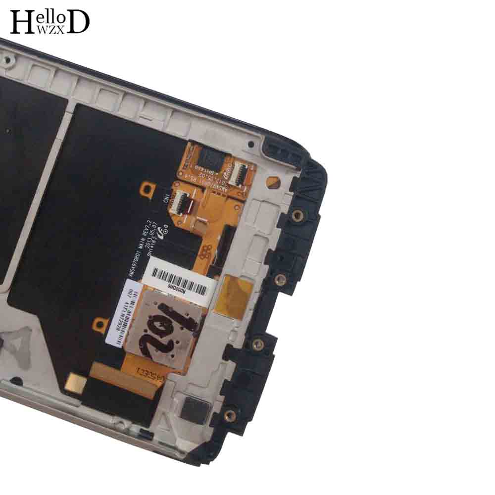 Image 5 - Phone LCD Display For Motorola Moto Droid MAXX XT1080 XT1080M LCD  Display Touch Screen Frame Digitizer Full Assembly PartsMobile Phone  Touch Panel