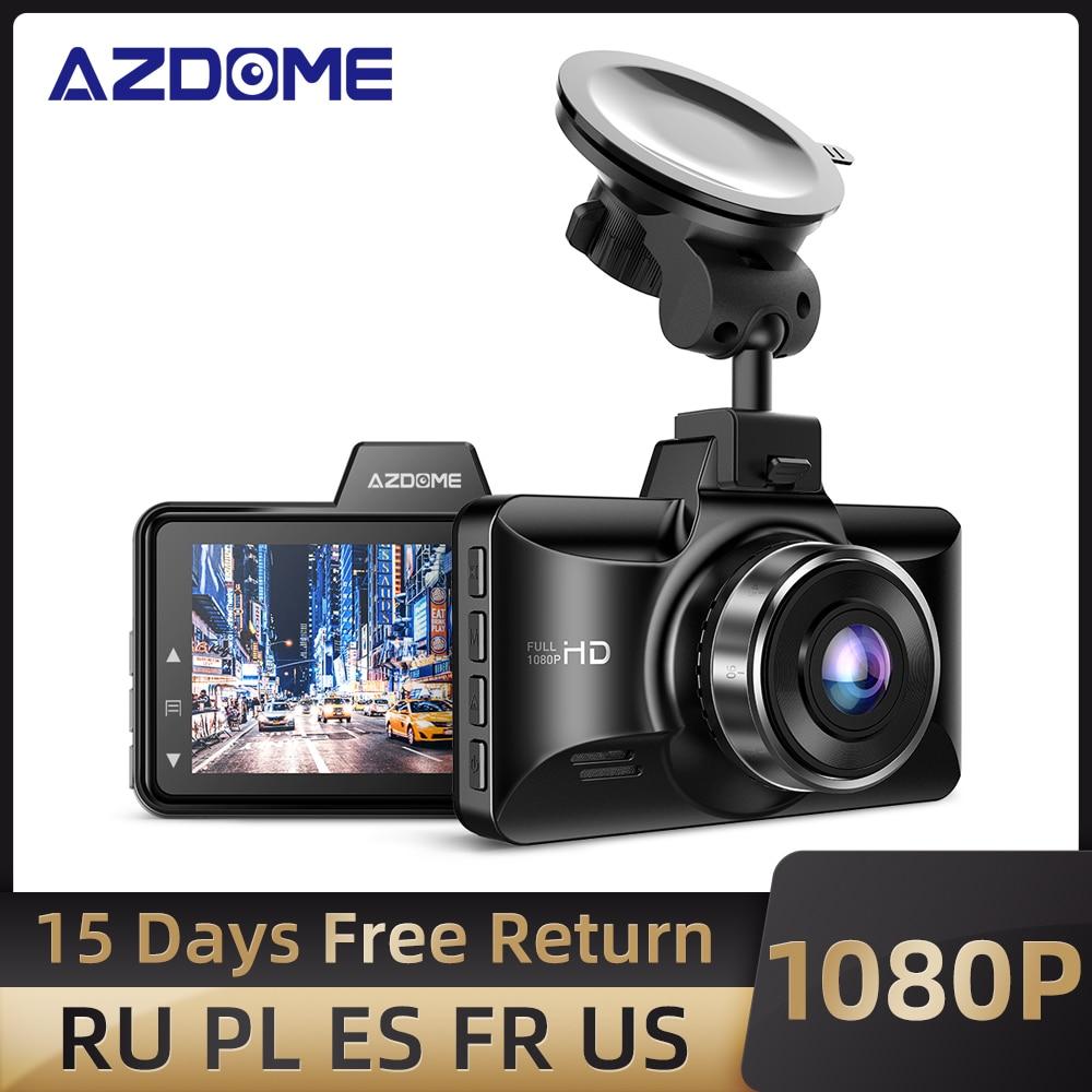 AZDOME M01 Pro Dash Cam 3 inch 2.5D IPS Screen Car DVR Recorder Full HD 1080P Car Video Recorder Dashcam Dash Camera Record DVR/Dash Camera  - AliExpress