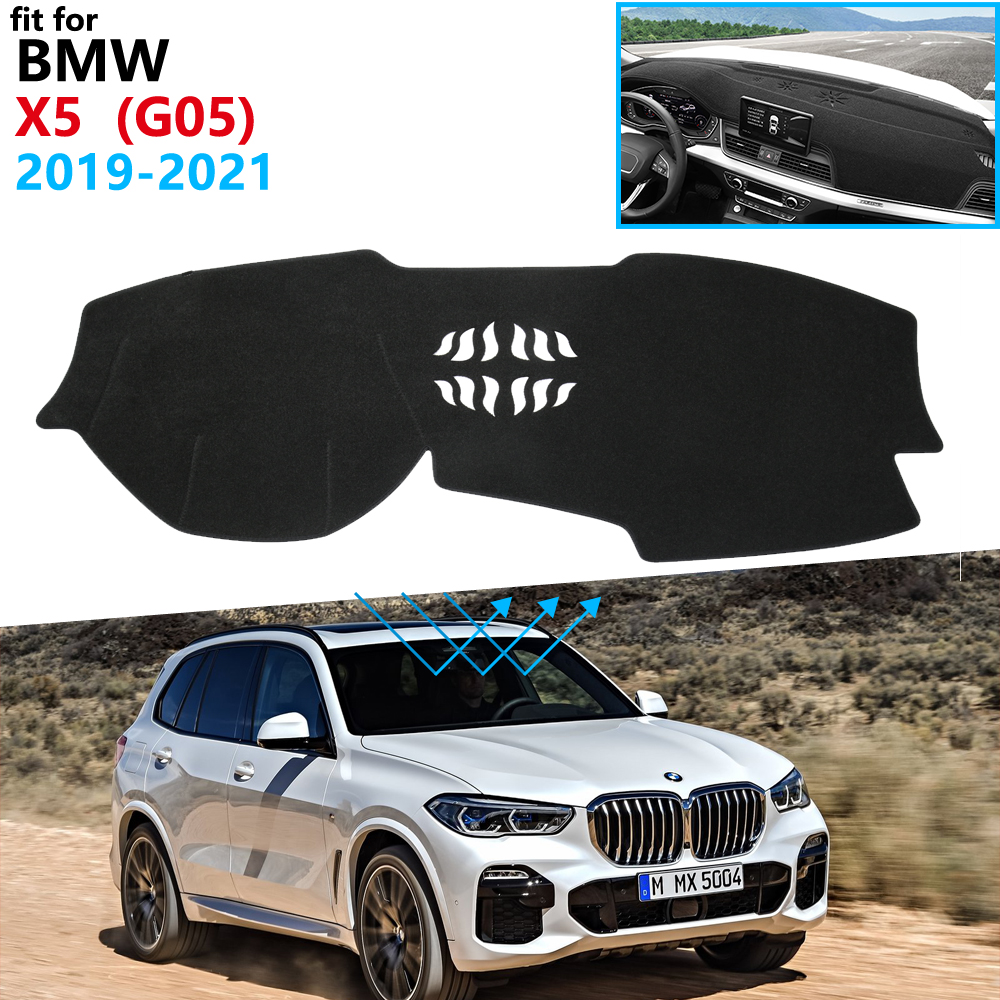 2x New ABS Black Front Seat under the outlet dust cover trim For BMW X5 G05 2019