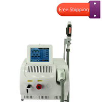 Portable IPL /OPT/Elight Laser Hair Removal Machine Skin Whitening 530nm,480nm 640nm Three Wavelength