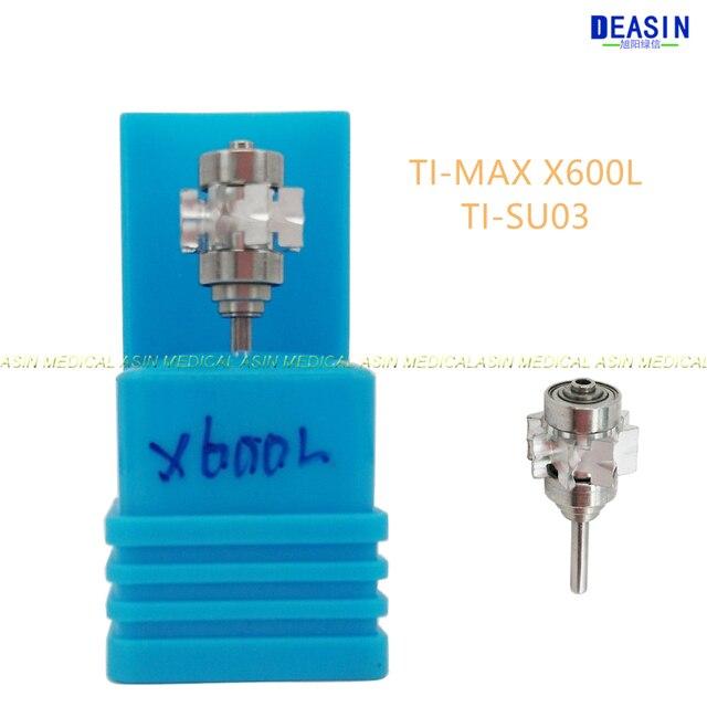 2 pcs x NSK TI MAX X600L X600 handpiece cartridge TIX SU03 Standard head turbine rotor NSK