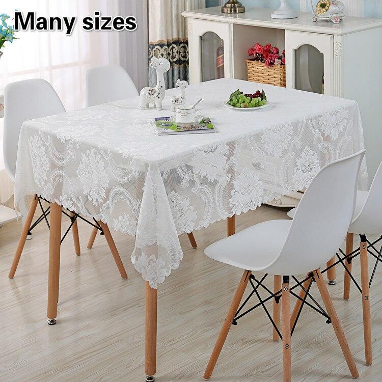 Британский стиль простой белый жаккард литературный кружево скатерть пианино ТВ кабинет кофейный столик для ресторана ткань коврик чашка Tapete nappe|Скатерти|   | АлиЭкспресс