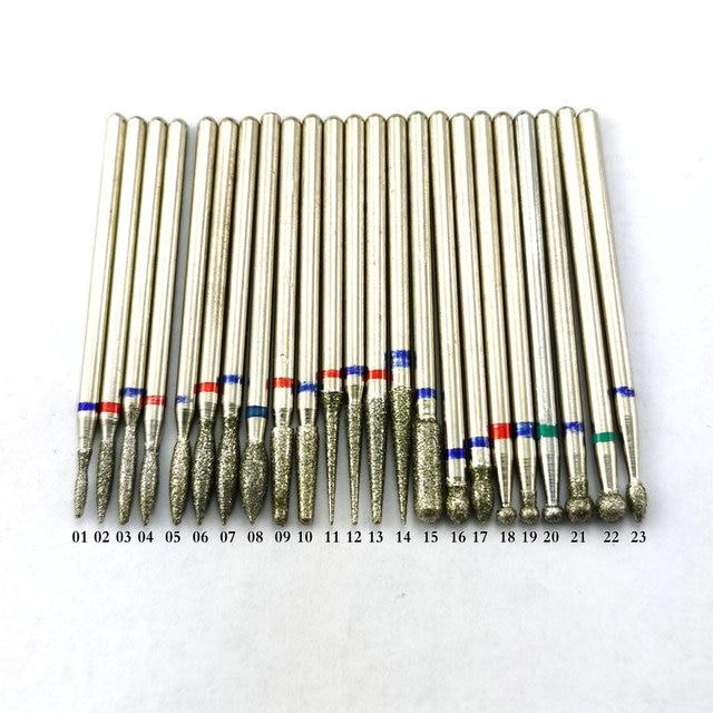 Diamond Drill Bit Milling Manicure Cutter for Pedicure Electric Machine Device Tool Nail Art Burr Drill 4