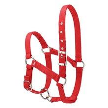 6 мм утолщенный для верховой езды Прочный воротник для головы лошади Холтер уздечка оборудование для верховой езды аксессуары для лошадей