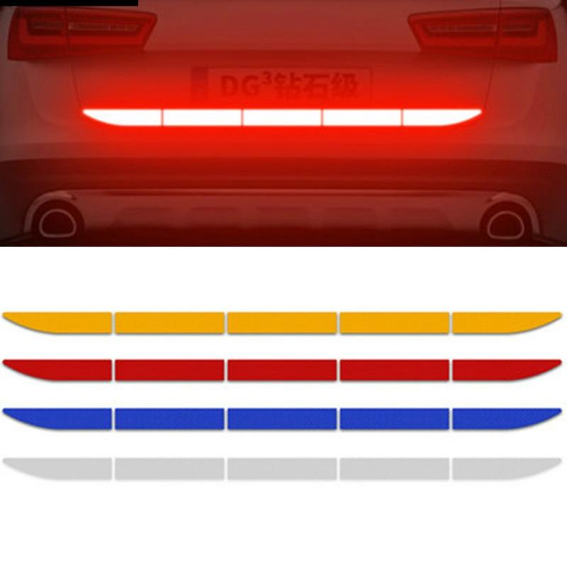 Car Reflective Sticker Warn Body Trunk For Opel Antara Astra K J H G Crossland X Grandland X Insignia Mokka X Signum