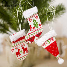 Obedience New Christmas Decoration Articles Tree Fabric Hangers Creative Small