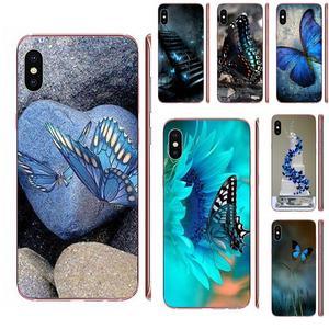 Galaxy Tab S2 9,7 Милая синяя бабочка для Samsung Galaxy A51 A71 A81 A90 5G A91 A01 S11 S11E S20 Plus ультра ТПУ