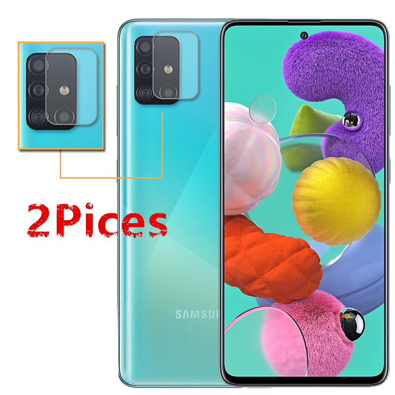 2PCS For Samsung Galaxy A51 Camera Protector Camera Len Film For Samsung Galaxy A51 Camera Len Protector Protective Film Glass