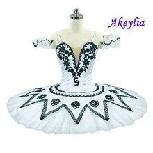White Black Doll Professional Ballet Tutu Women Child Ballerina Competiton YAGP Stage Tutus dancewear performance kids