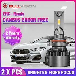 Bullvision H4 LED Headlights Ice F5 F5C 20000LM Canbus Error Free H7 H11 HB3 HB4 H8 H9 9005 9006 Plug&Play CSP Chips High Bright